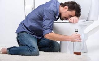 Рвота желчью после алкоголя — что делать и как остановить