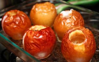 Печёные яблоки: как вкусно запечь яблоки в духовке?