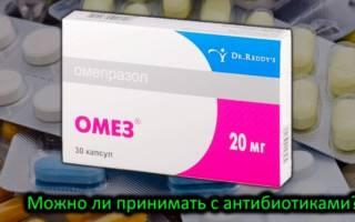 Омез антибиотик или нет