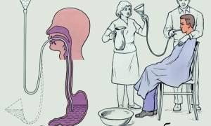 Чем промывают желудок при отравлении в больнице