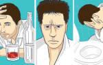 Как избавиться от рвоты после алкоголя