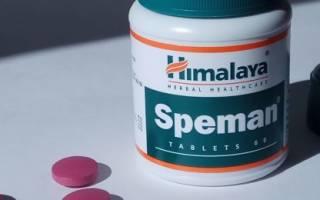 Инструкция по применению средства Спеман для нормалиация сексуальных функций