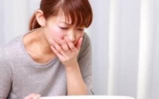 Причины рвоты у взрослого без температуры
