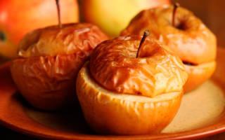 Вкусные печеные яблоки в духовке